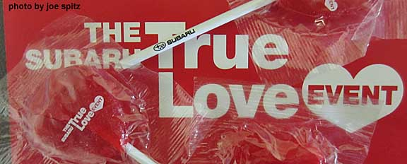 click for more 2014 Subaru True Love Event images