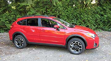 2016 Subaru Crosstrek Premium Special Edition. Only 1500 made, available June 2016. All are Pure Red